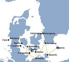 Scandlines Route Harta