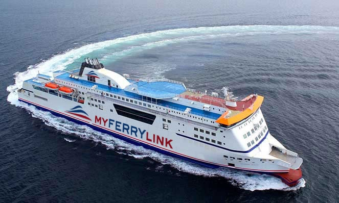 MyFerryLink Route Peta