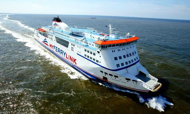 MyFerryLink Route Map