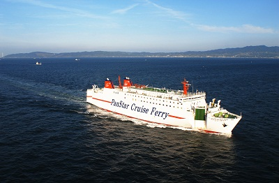 Panstar Korea to Japan Ferry