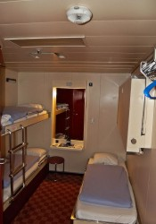 P&O Ferries 4 Berth Cabin